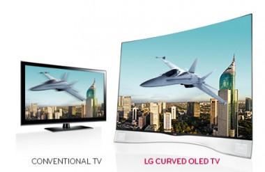 Az elso oled TV az LG-től