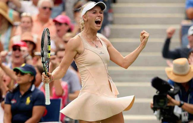 Játék-szenvedély Caroline Wozniacki